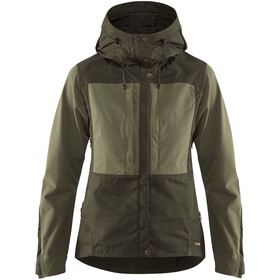 Fjällräven Keb Jacke Damen deep forest-laurel green